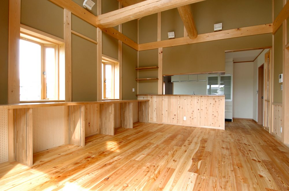 収納スペースの増設