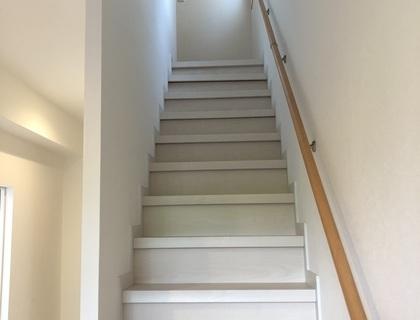階段カバー工法(リフォーム階段)
